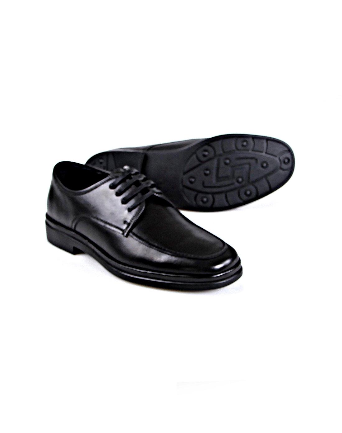 黑色商务皮鞋