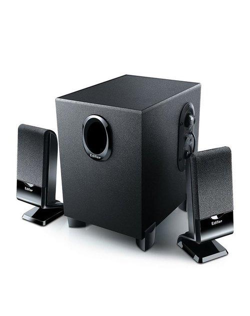 漫步者2.1低音炮多媒体音响(黑色)