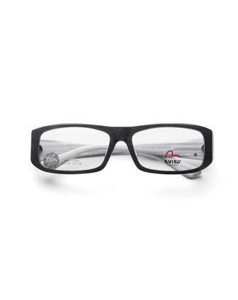 经典边框黑白色全框眼镜