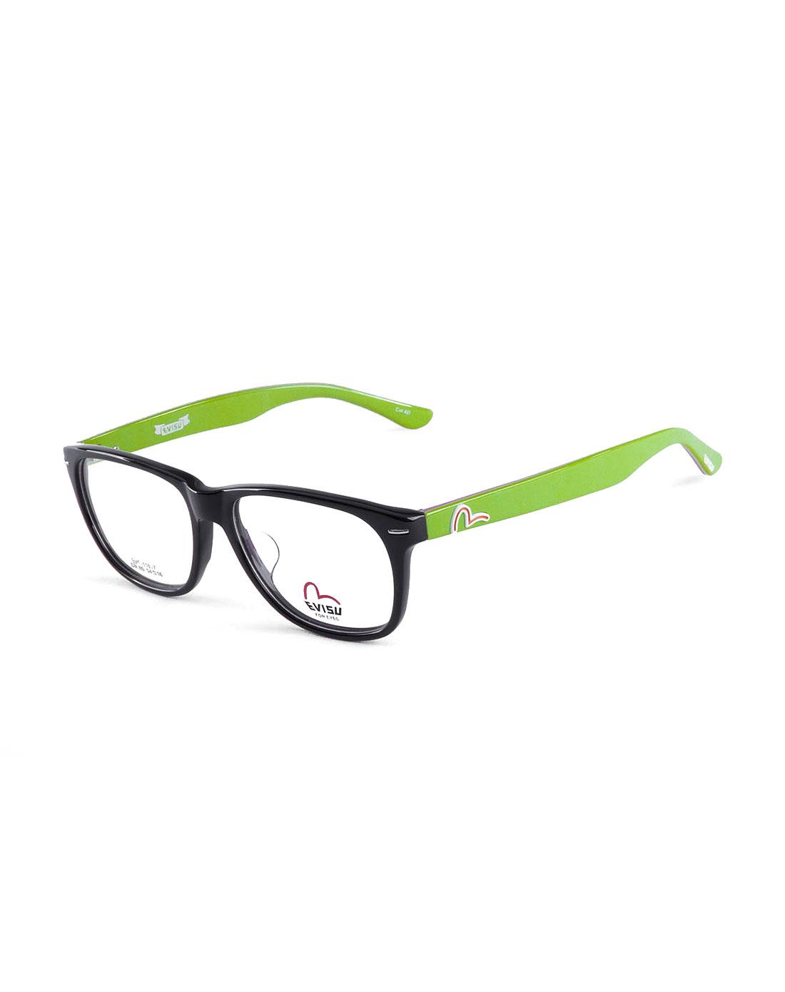 经典边框紫/绿色全框眼镜