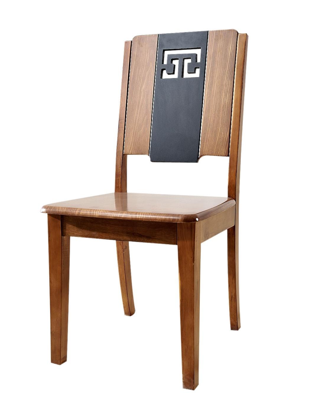 homes家具专场实木中式餐椅(两把装)xhd