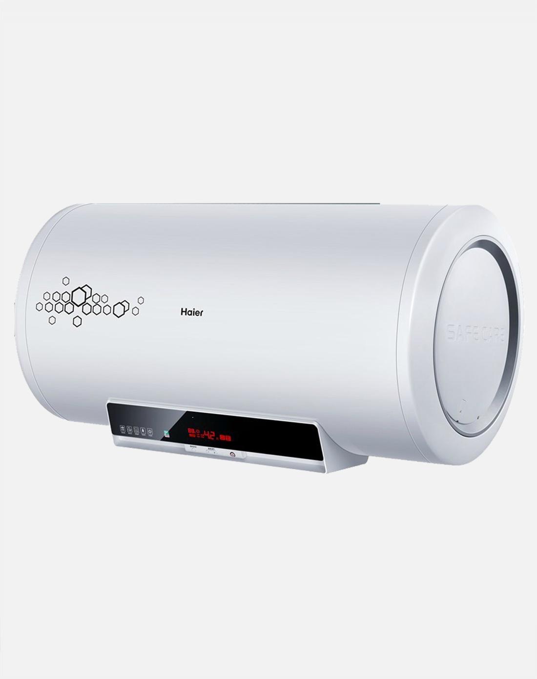 海尔haier电器电脑版分层加热电热水器60l(白色)es60h
