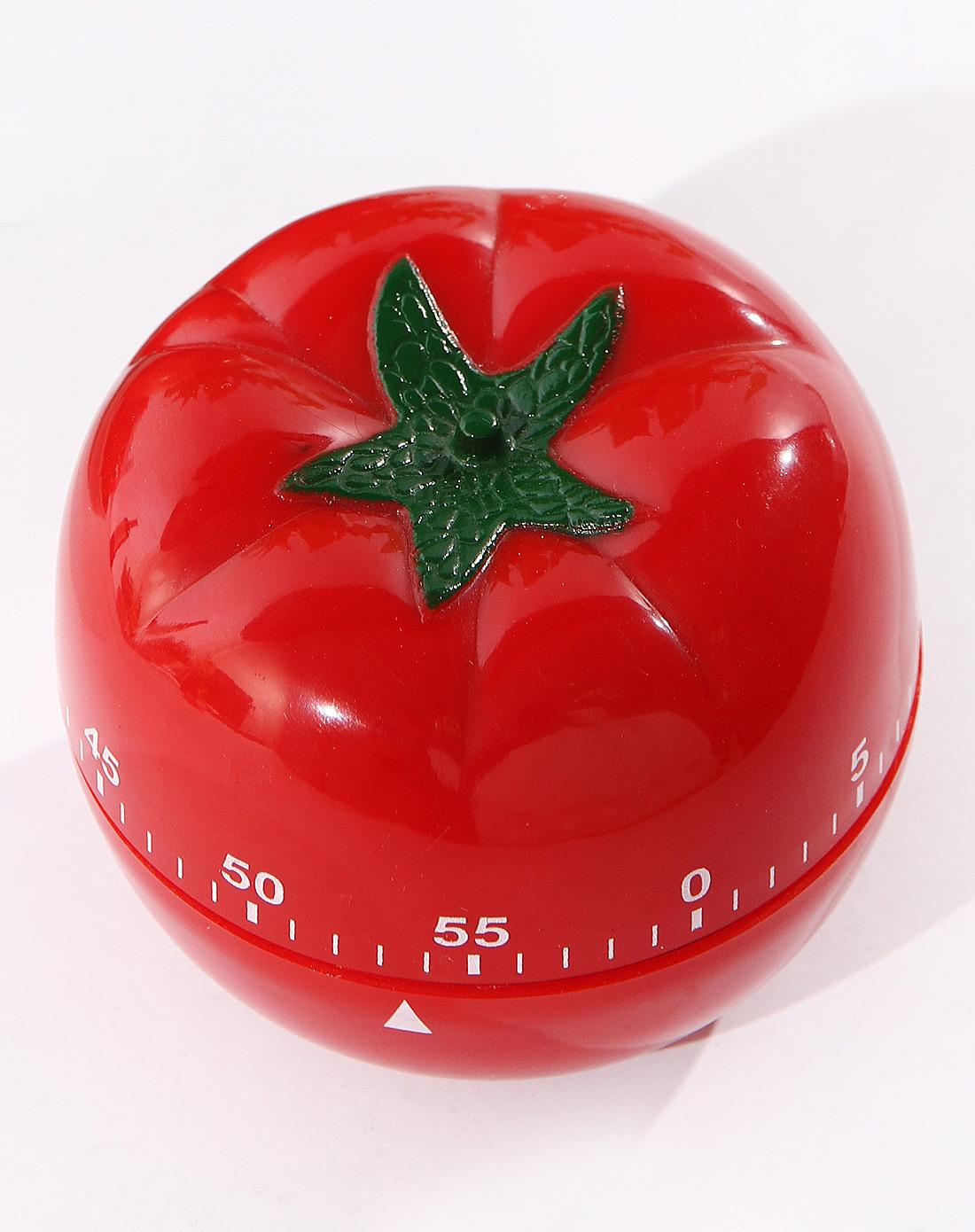 西红柿计时器 黑白厨师造型计时器