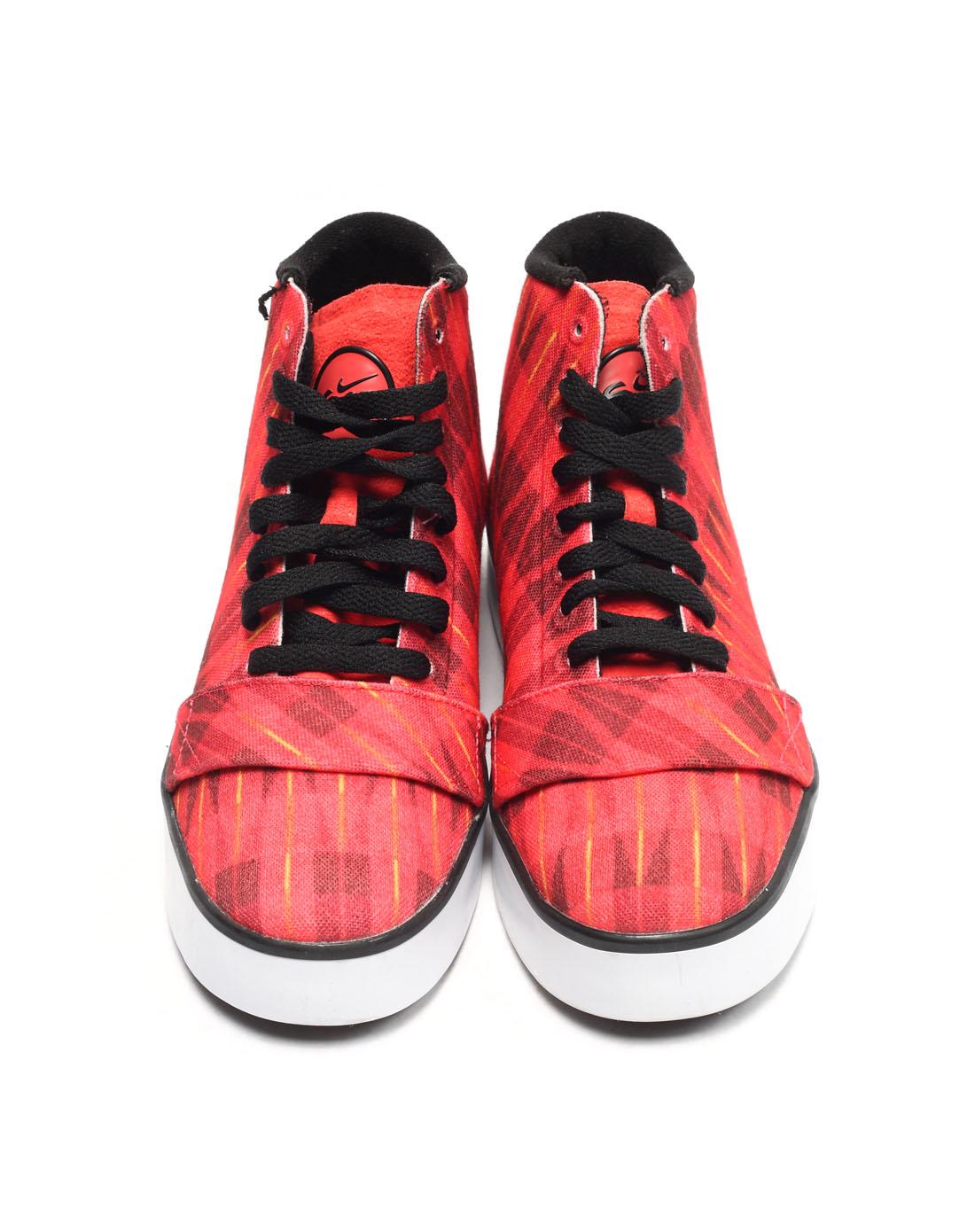 耐克nike-女子红色复古鞋415219-603