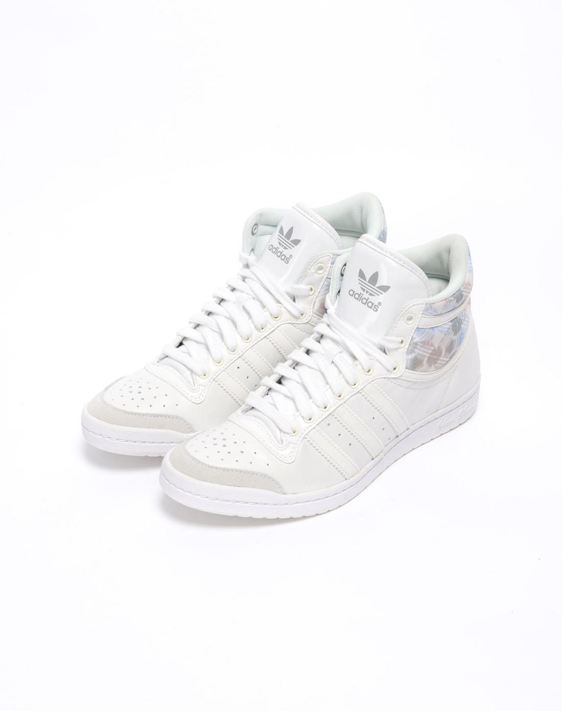 阿迪达斯adidas三叶草女士专场-女子白色复古鞋