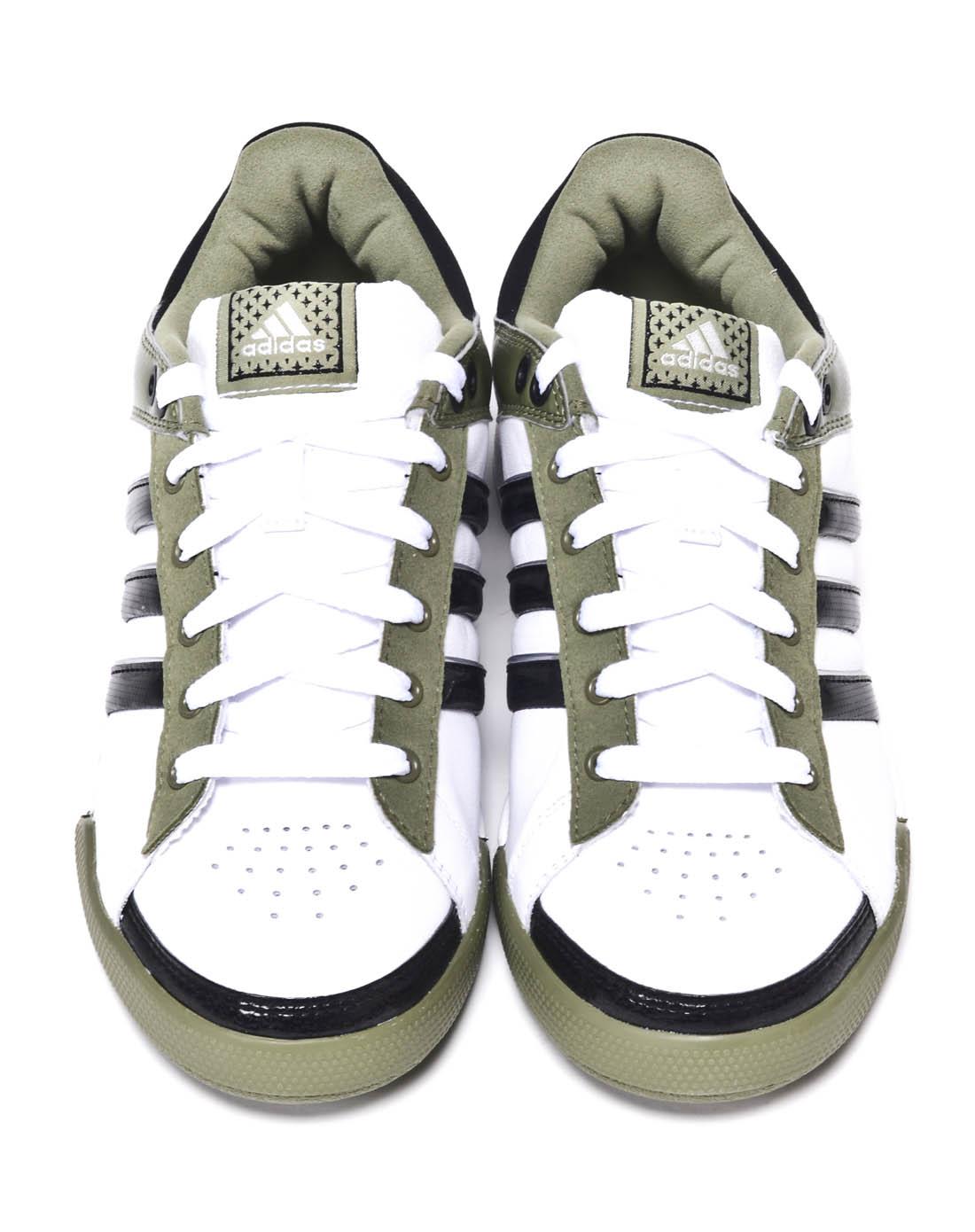 阿迪达斯adidas男子白色网球鞋v21716