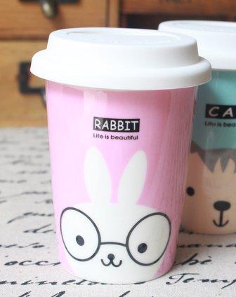 伊加yoga卡通动物水杯(兔子)1a102097