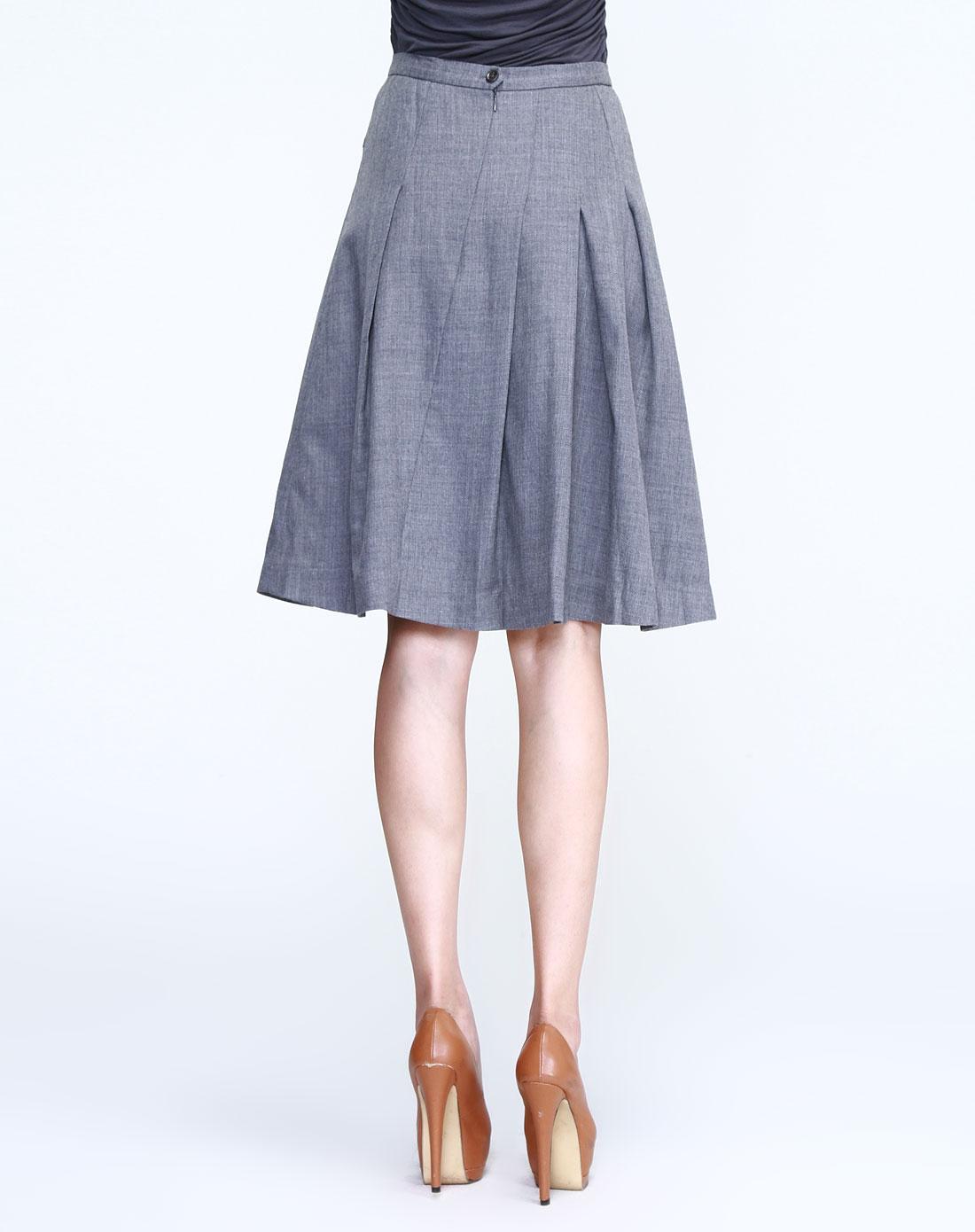 半裙款式图和结构图