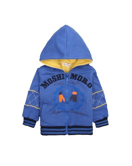 麻希玛柔moshimoro麻灰男童针织套装/套头mqf1118148