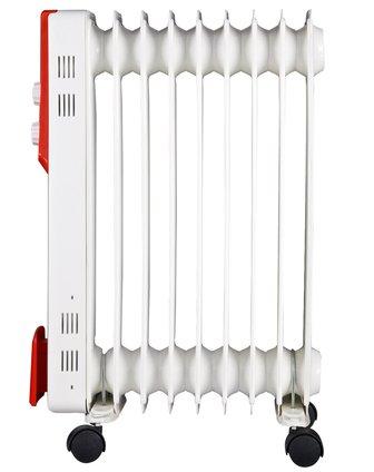 9片白色电热油汀取暖器