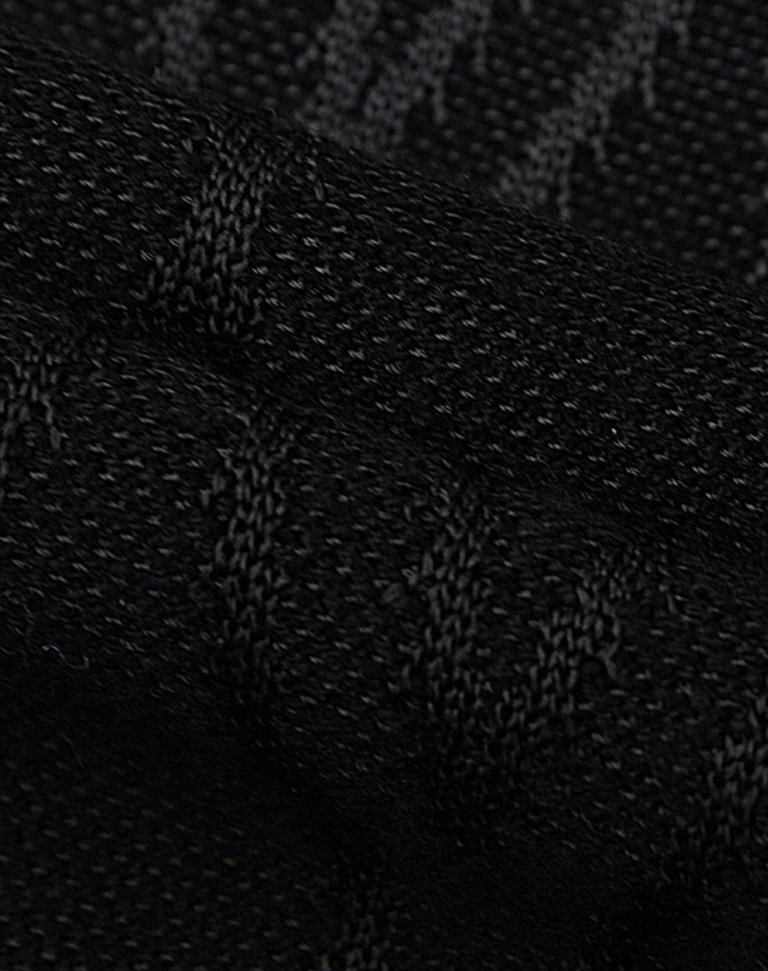诺奇n&q黑色时尚渐变色羊毛衫m062hbi3033b1