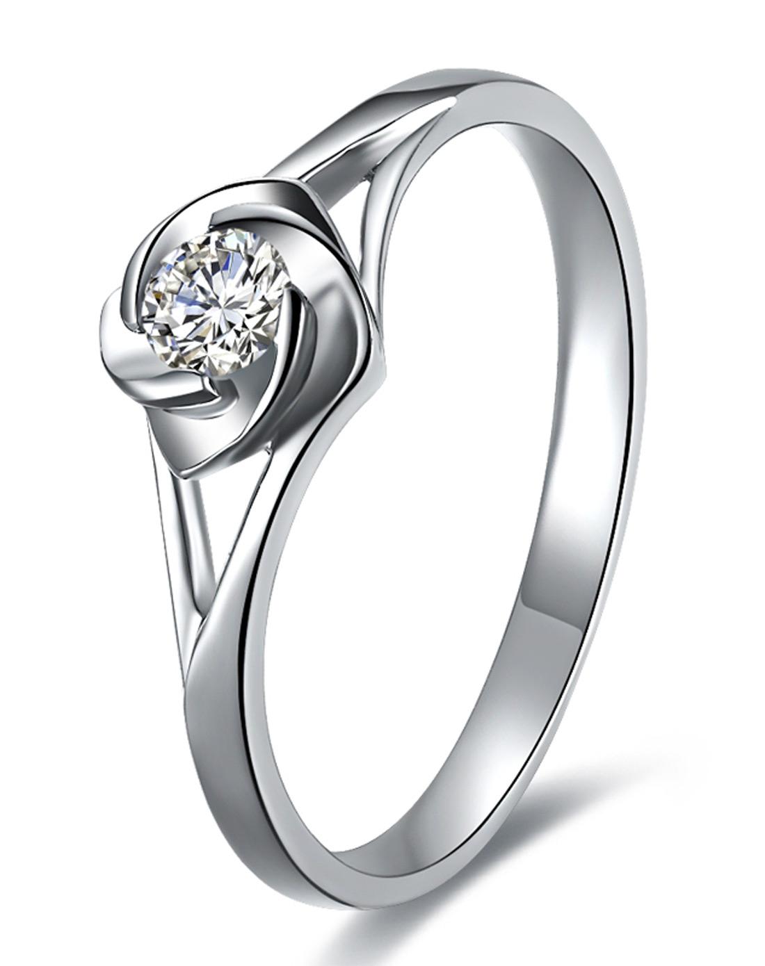 金钻石戒指id019021