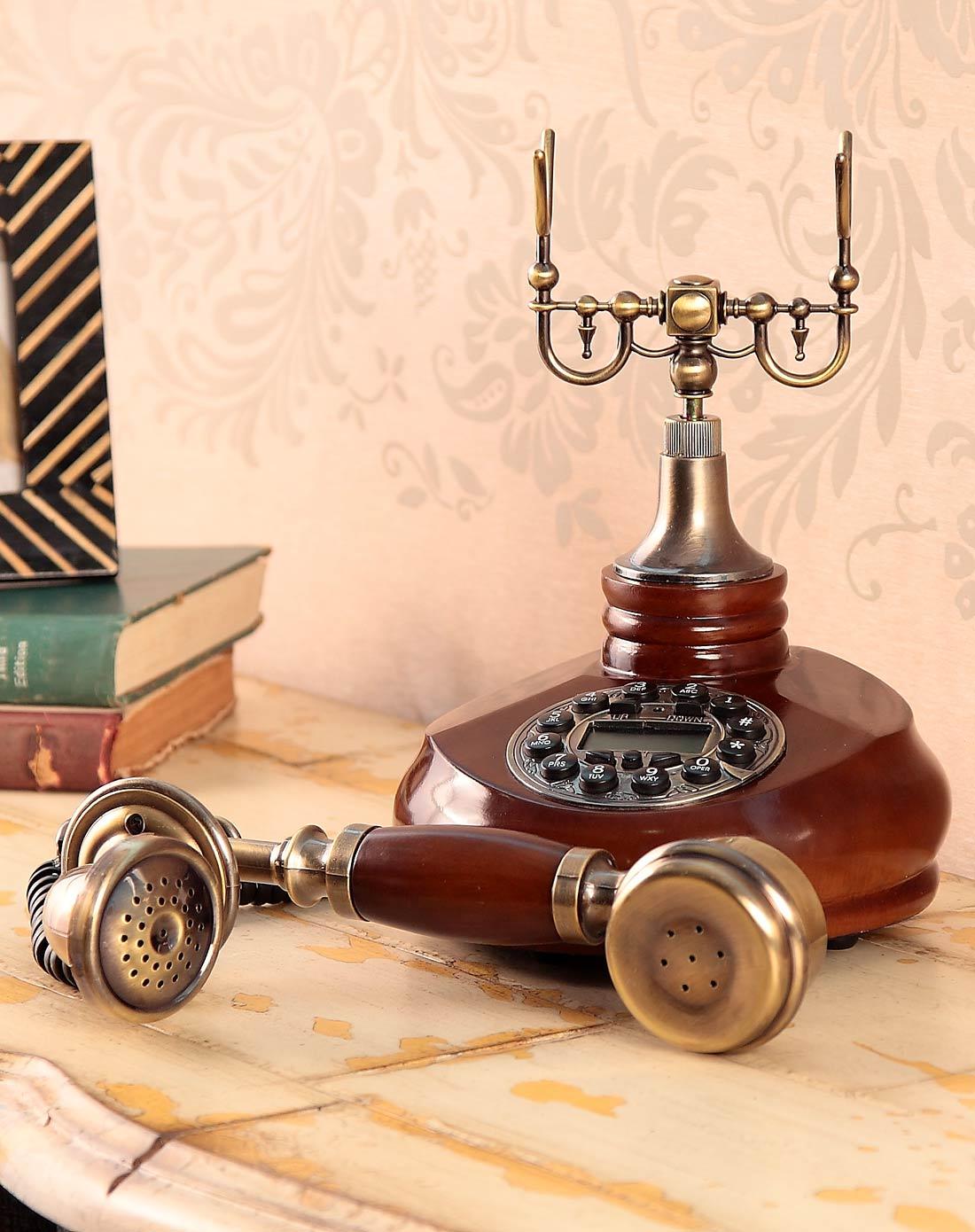 欧式复古电话机-优雅