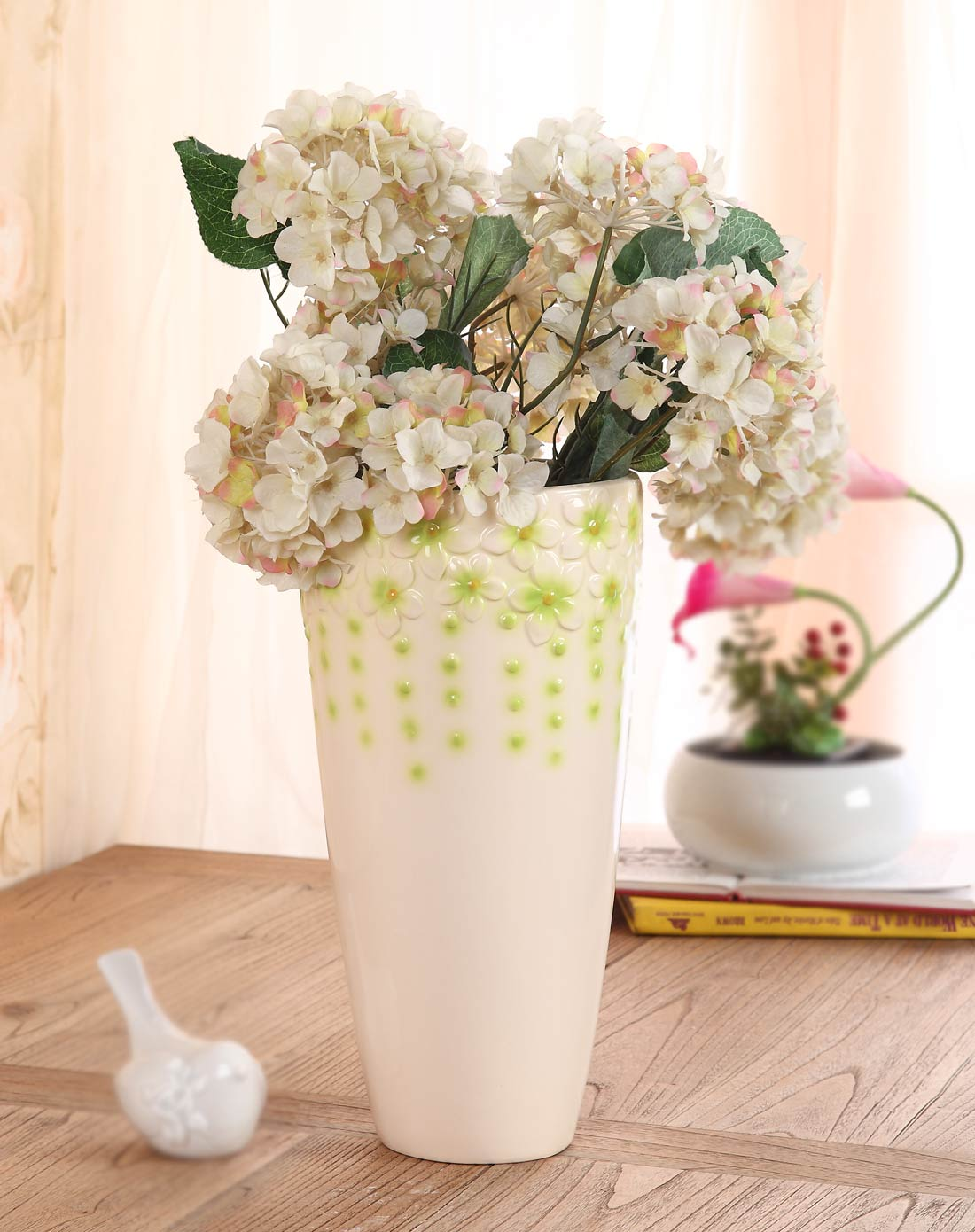 时尚陶瓷花瓶3件套-小清新