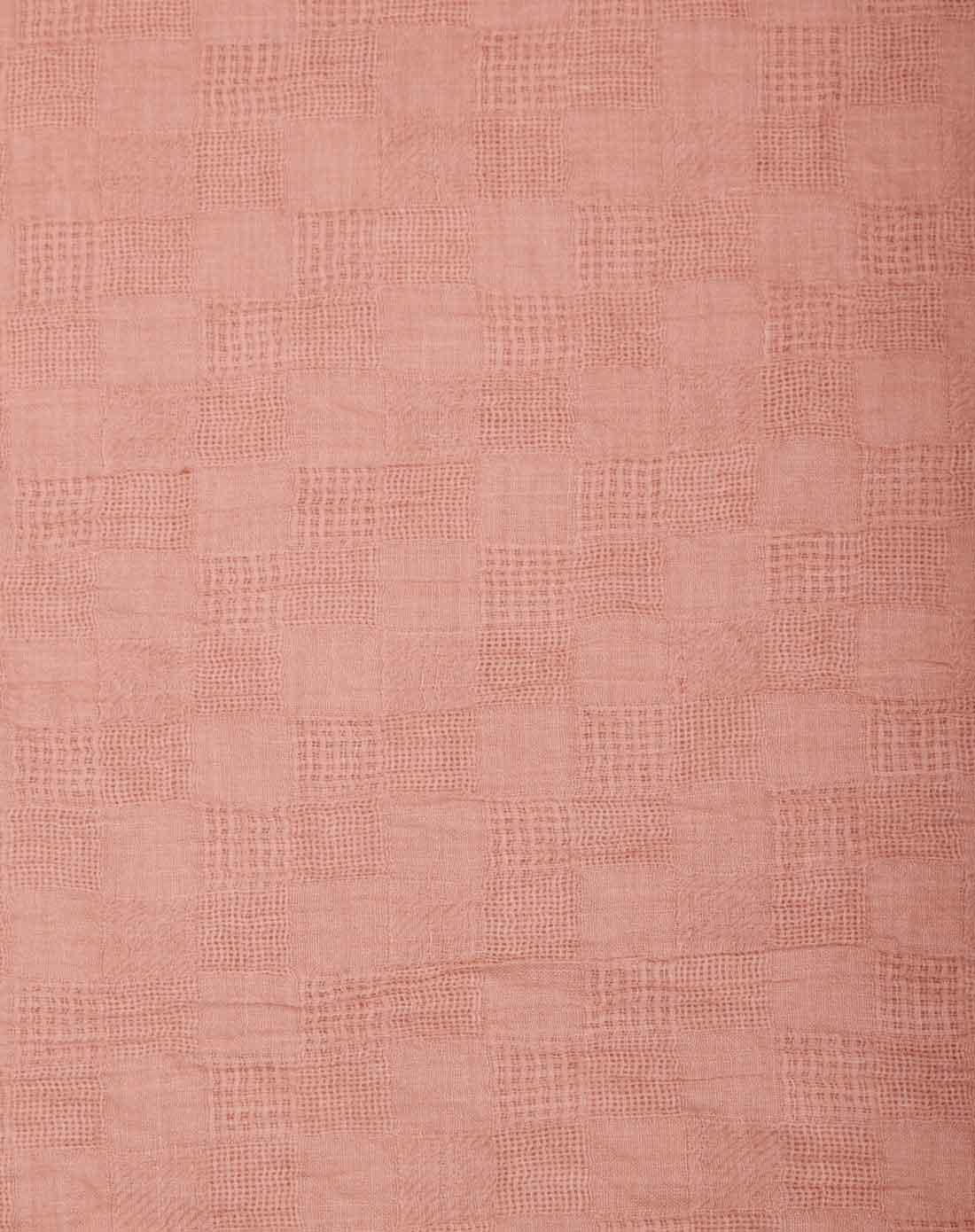 粉色经典欧式大牌素色格子围巾