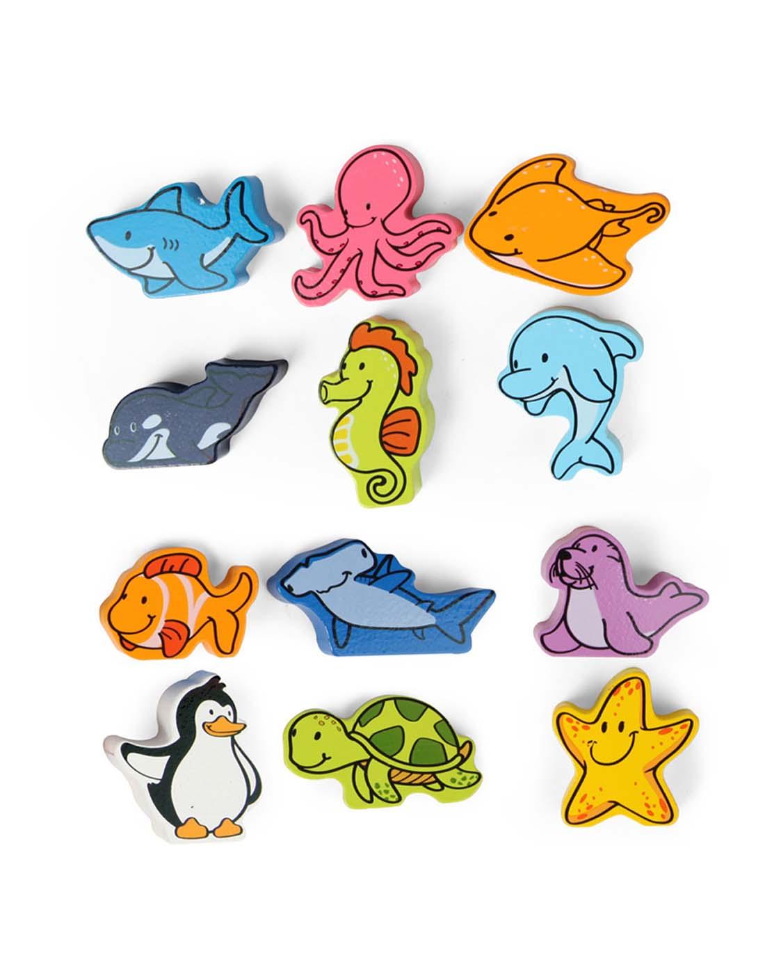 1岁 早教益智玩具立体海洋动物