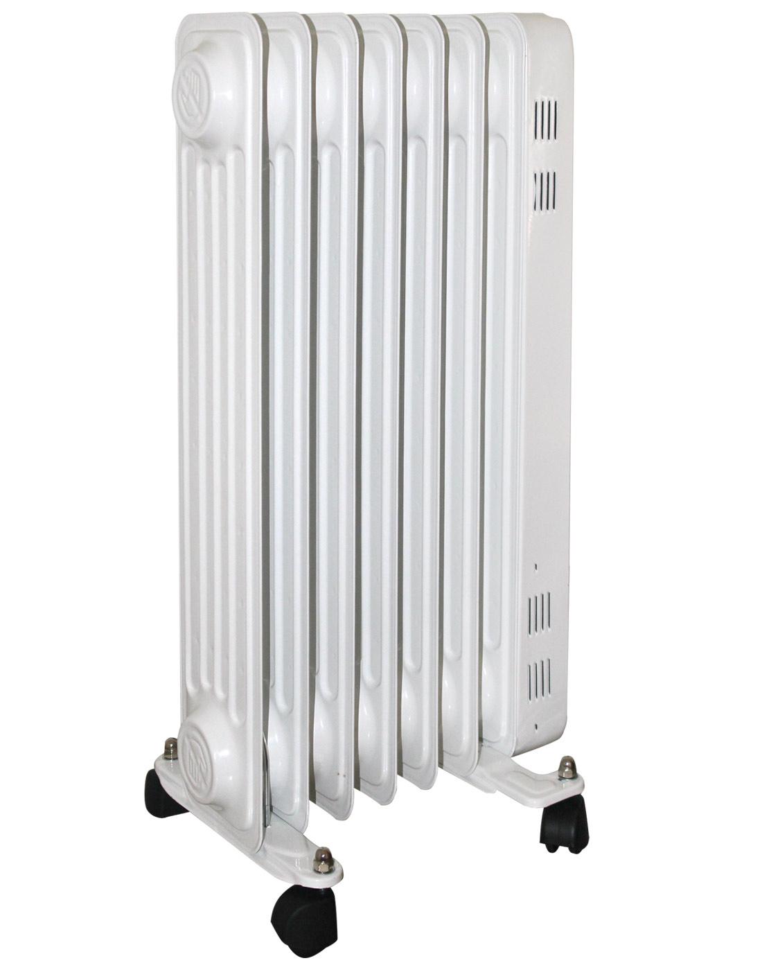 7片白色电热油汀取暖器