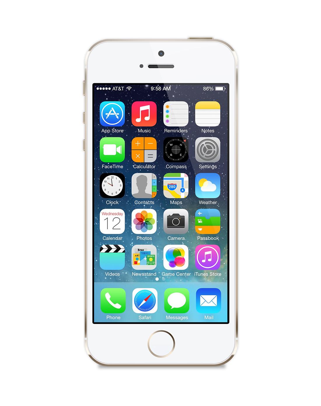 苹果iphone5s手机 16g 金色
