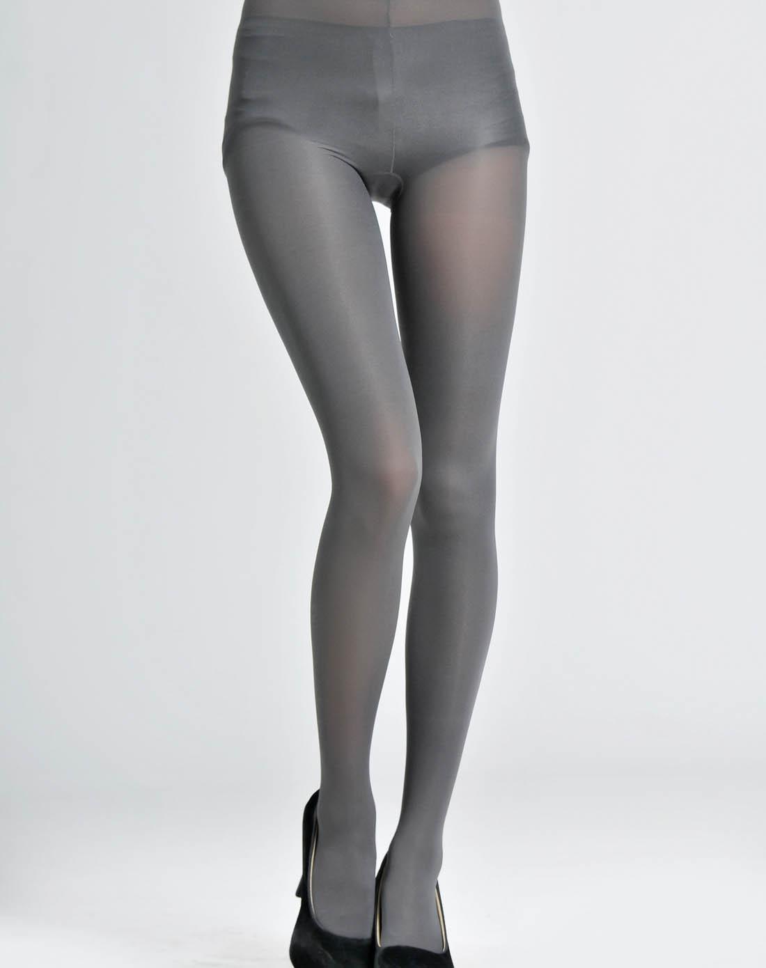 gatta女士内衣裤袜40d灰色莱卡超细纤维连裤袜