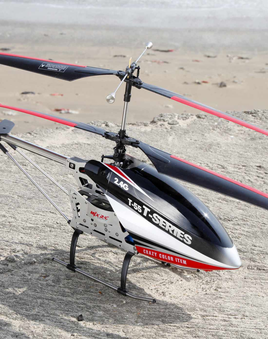 美嘉欣t55超大合金耐摔遥控飞机遥控直升机模型可航拍新手力荐