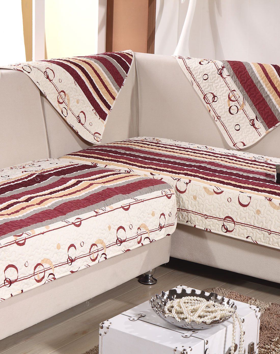 爱恋海藻绒沙发垫90*180cm