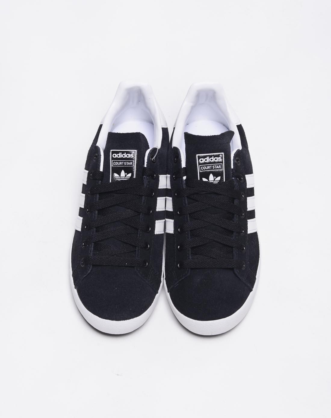 阿迪达斯adidas男鞋专场-男子黑色复古鞋