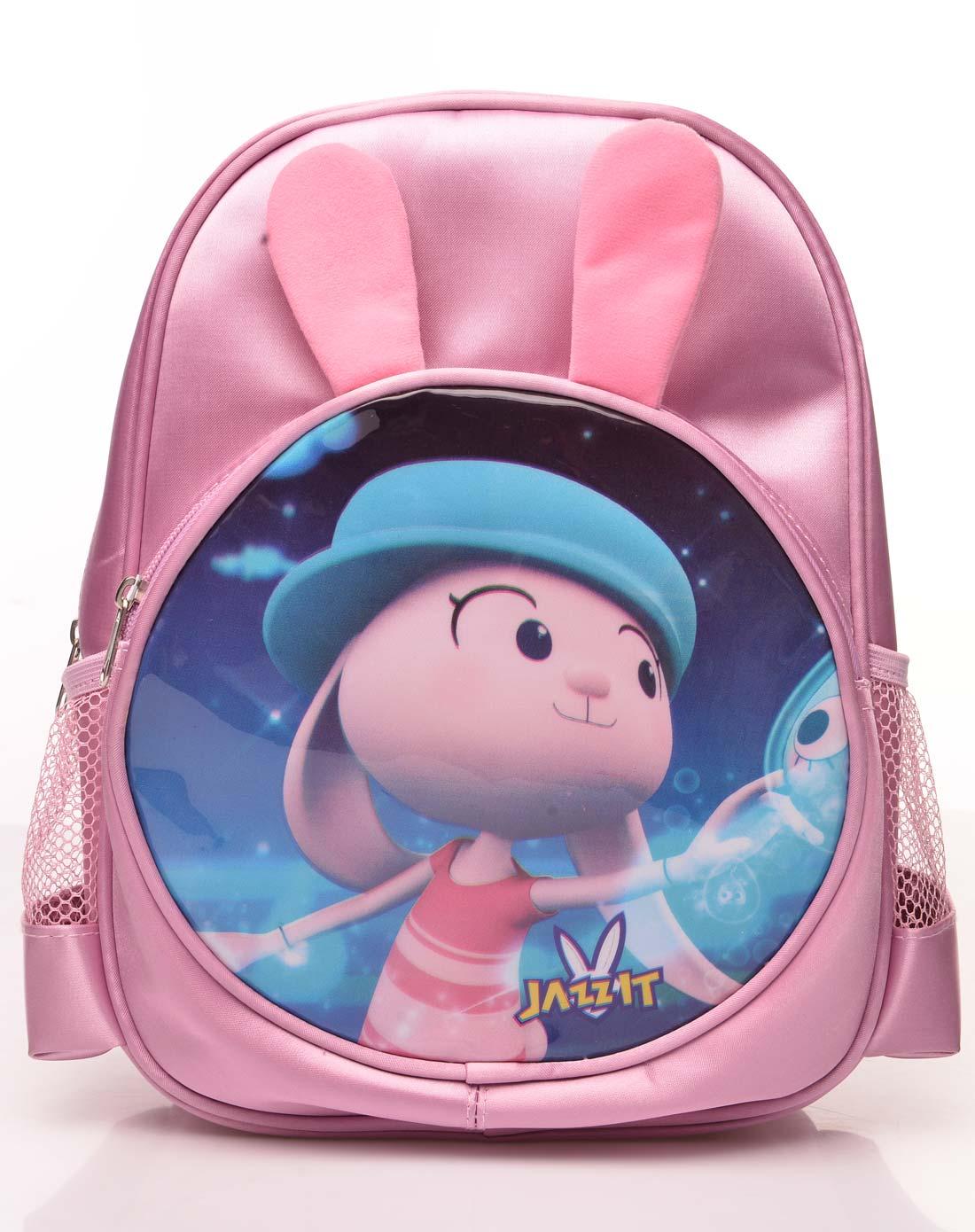 粉红色儿童书包