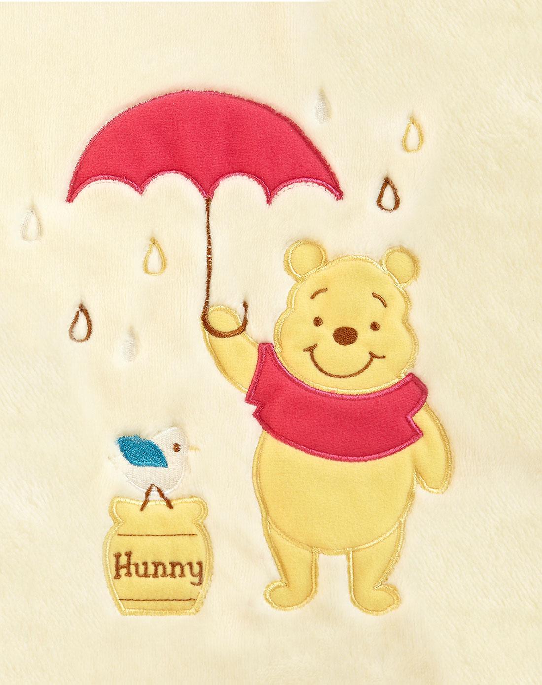 萌萌宝贝雨中漫步维尼盖毯(eva)