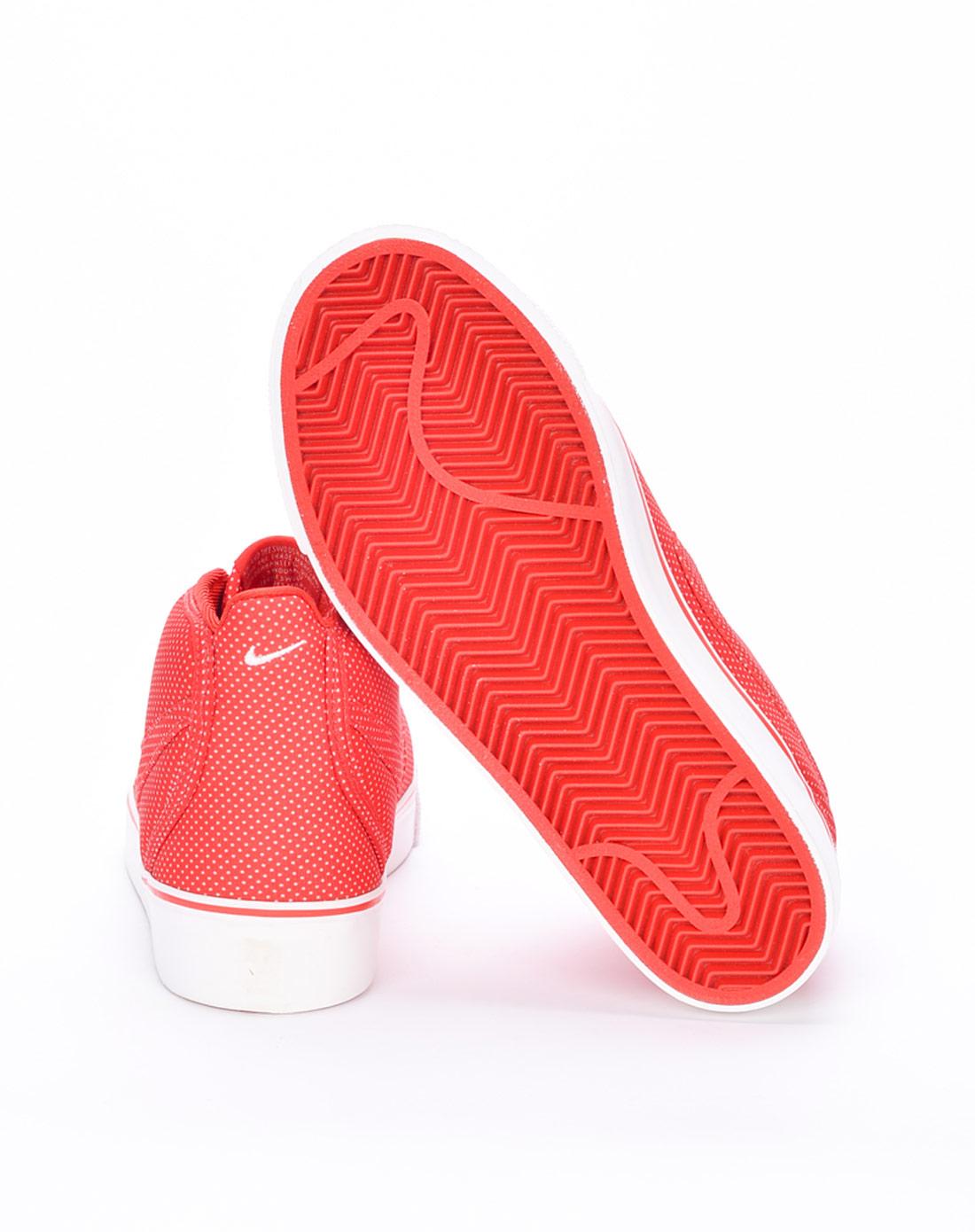 耐克nike-女子红色复古鞋434173-600
