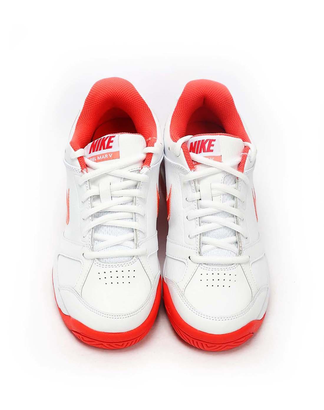 耐克nike-女子白色网球鞋454233-168