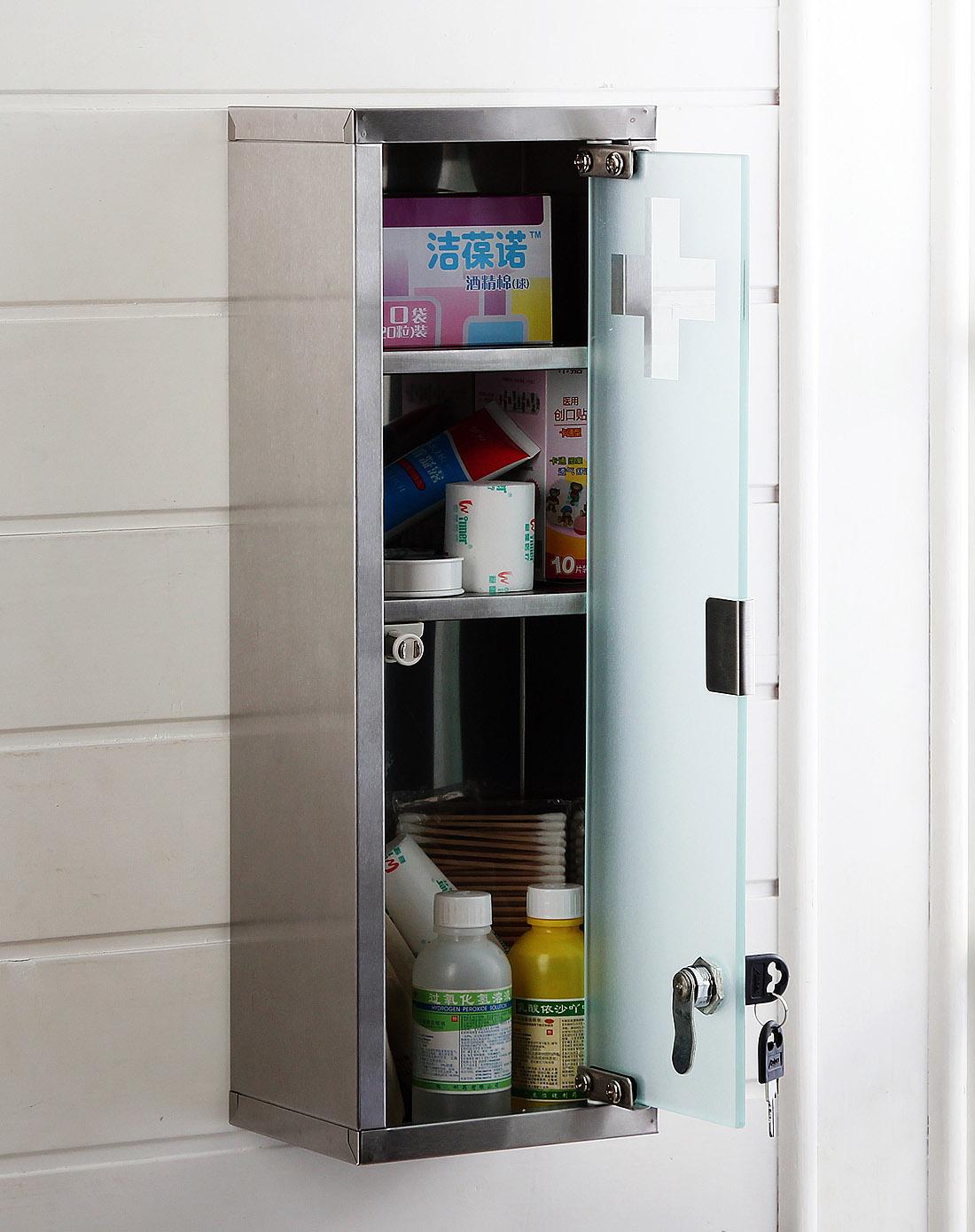 欧润哲 / 不锈钢省空间壁柜药物储存柜欧式药柜