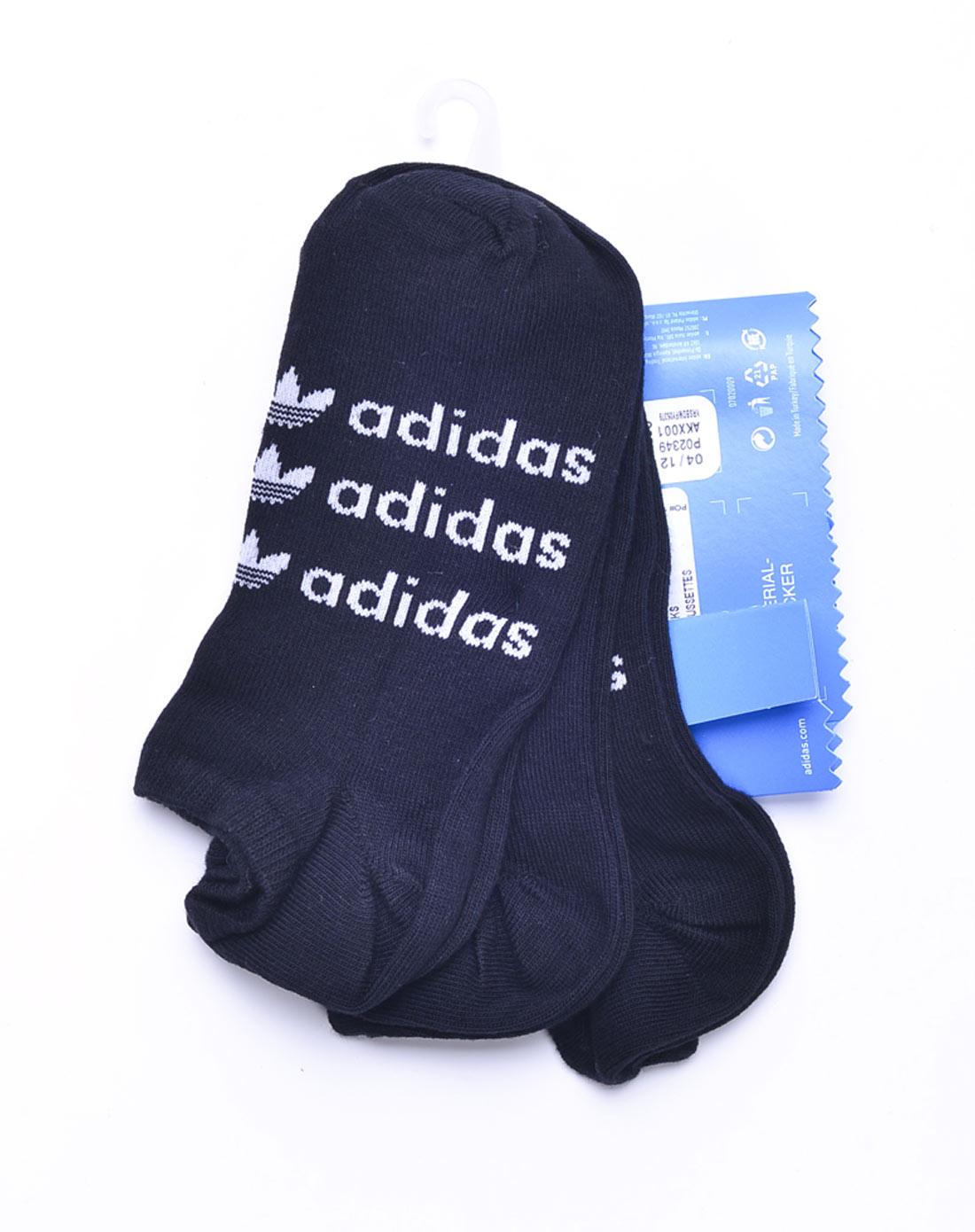 阿迪达斯adidas男装专场-男子黑色袜子