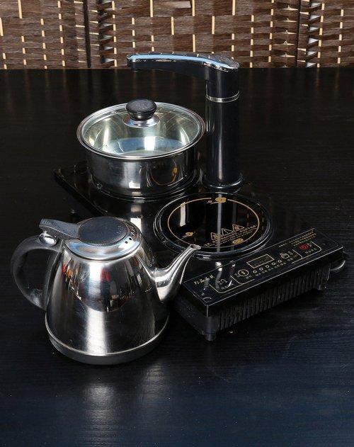 百鸿 三合一电磁炉 自动抽水 消毒锅 烧水