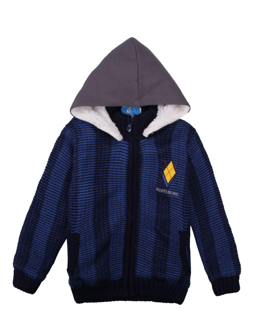 蓝色毛衣外套mdf111604