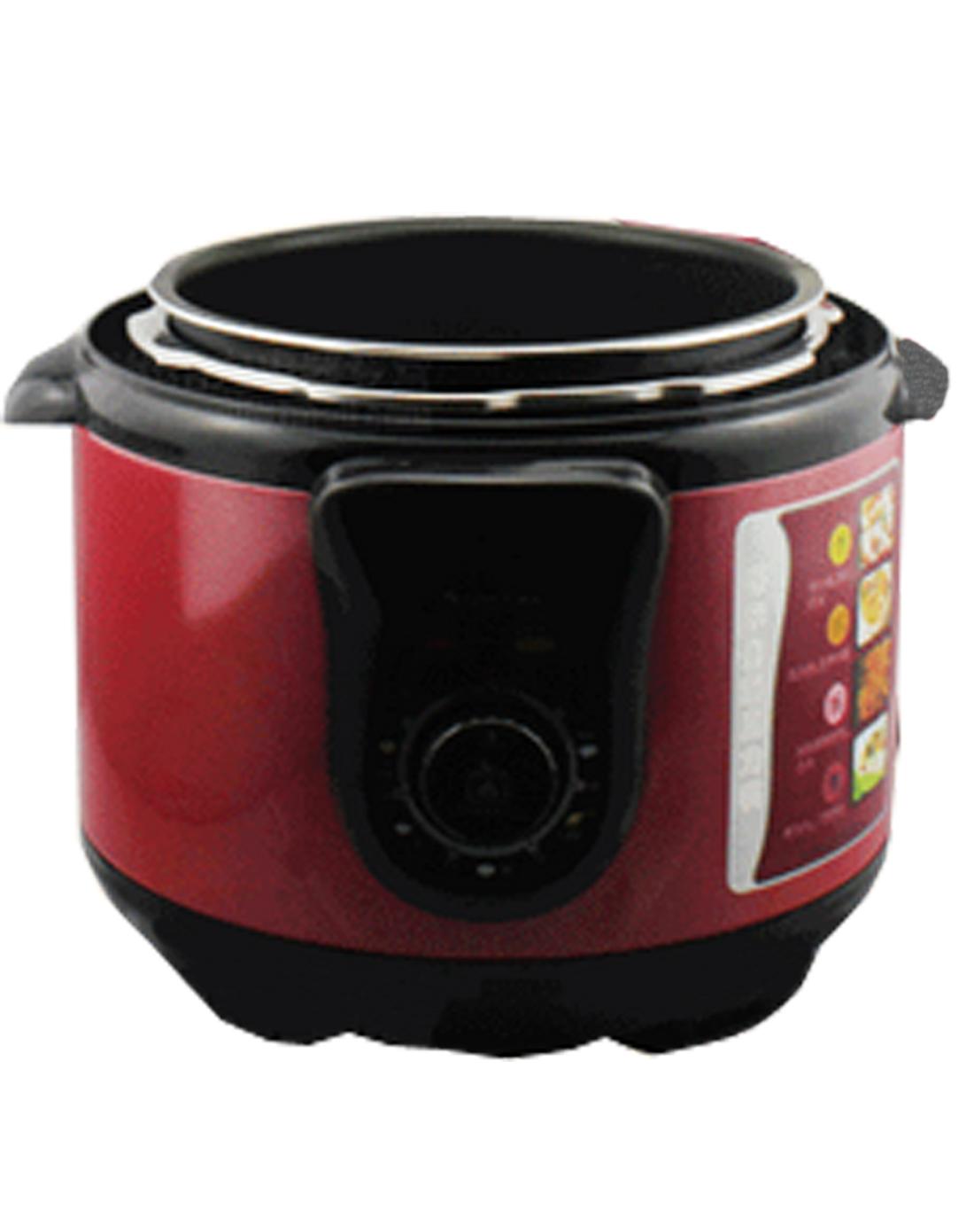 电压力锅,可拆锅盖连体结构,更易清洗,不绣钢外锅,到点琴音提示