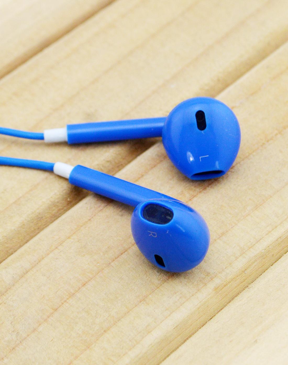 蓝色苹果专用调音耳机