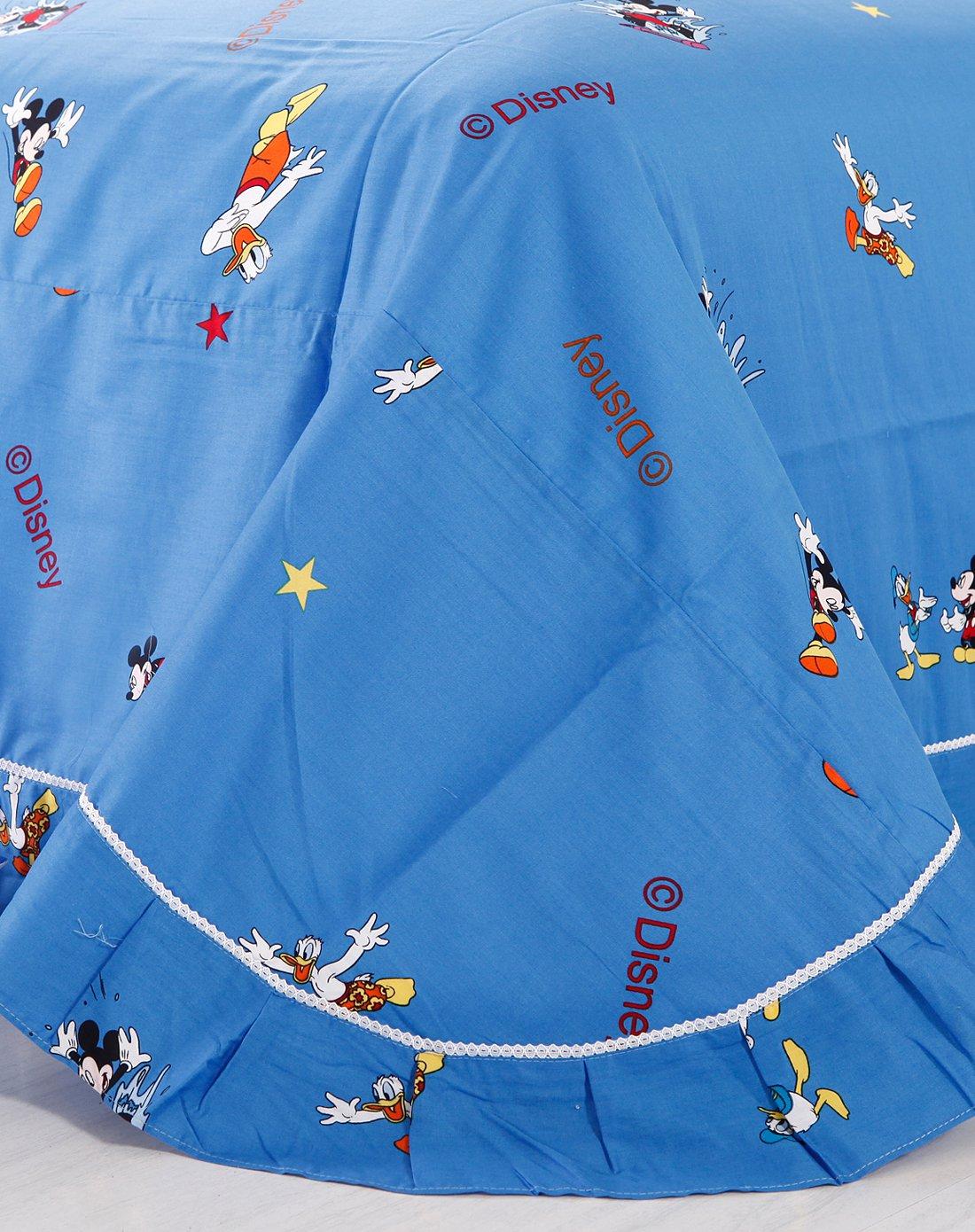 蓝色欧式儿童壁纸贴图