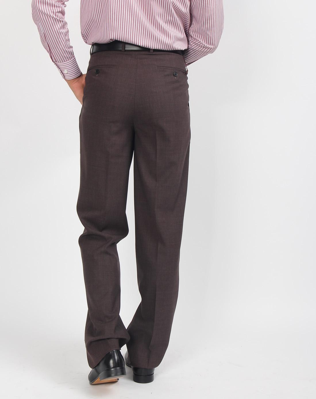 深灰色西装裤子