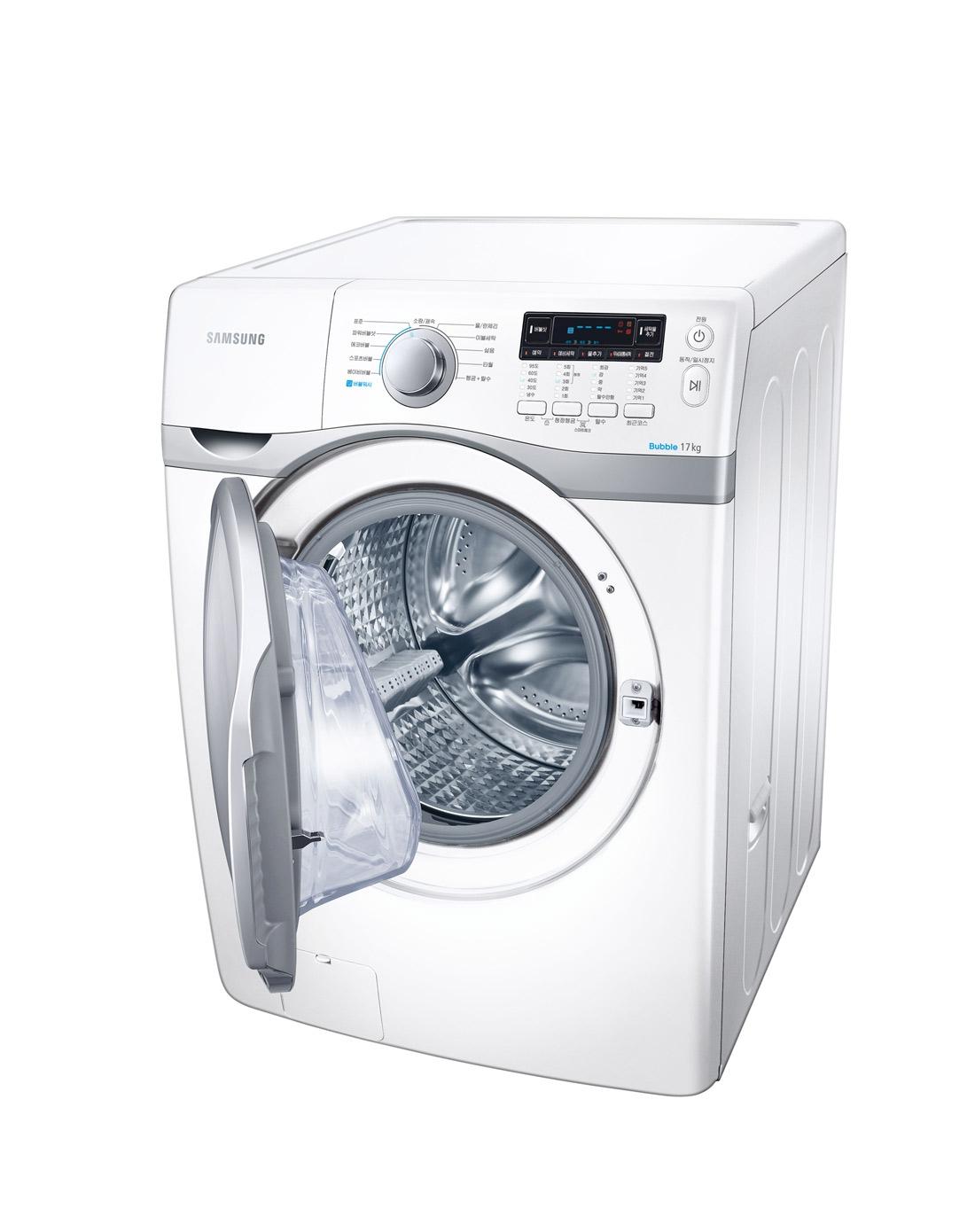 三星7kg钻石型内筒智能变频电机洗衣机(白色)