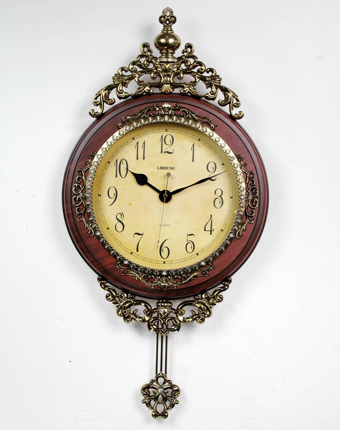 琪特qite欧式古典宫廷挂钟客厅艺术挂钟b80741b8074