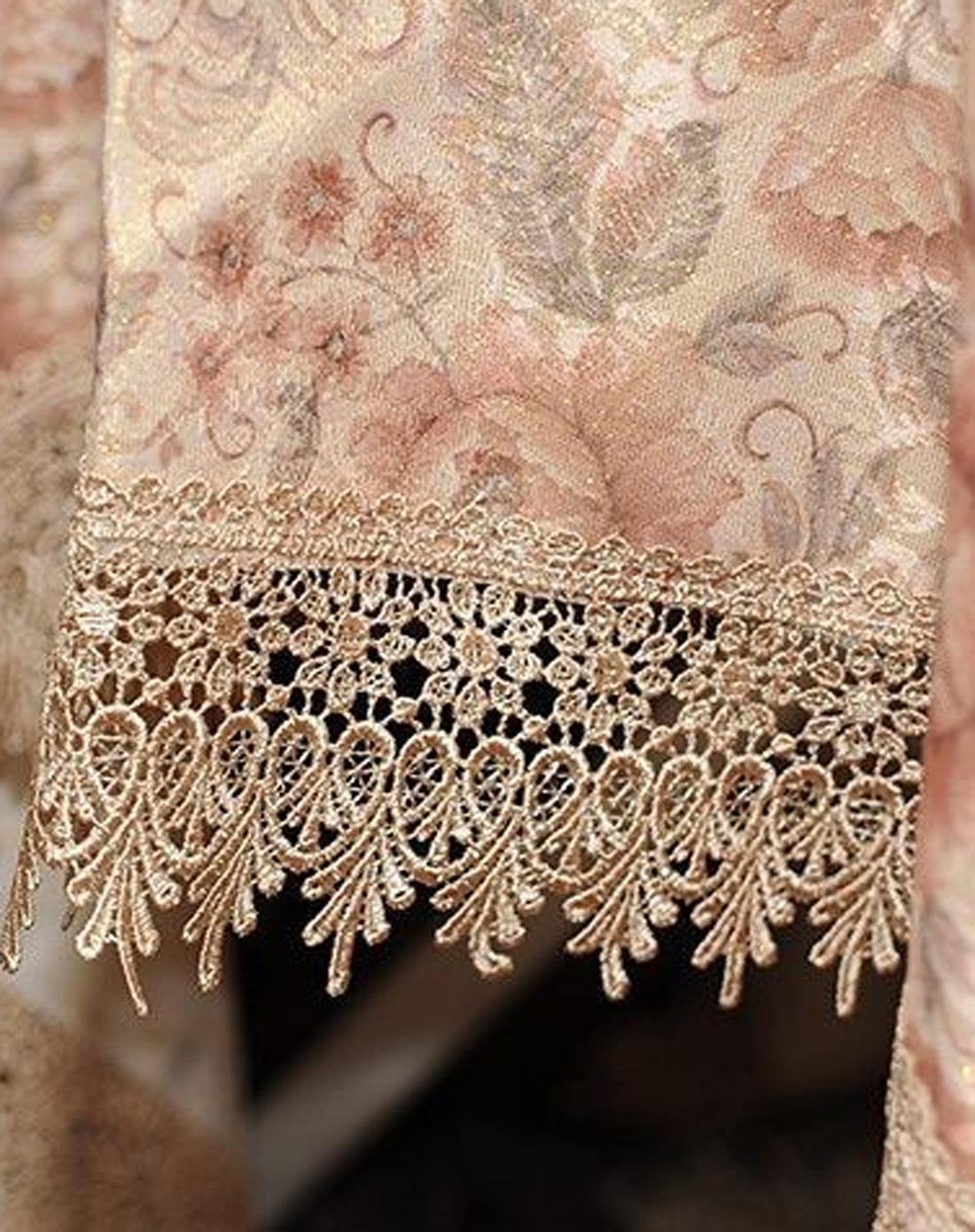花团锦簇系列欧式高档蕾丝花边桌布130*180