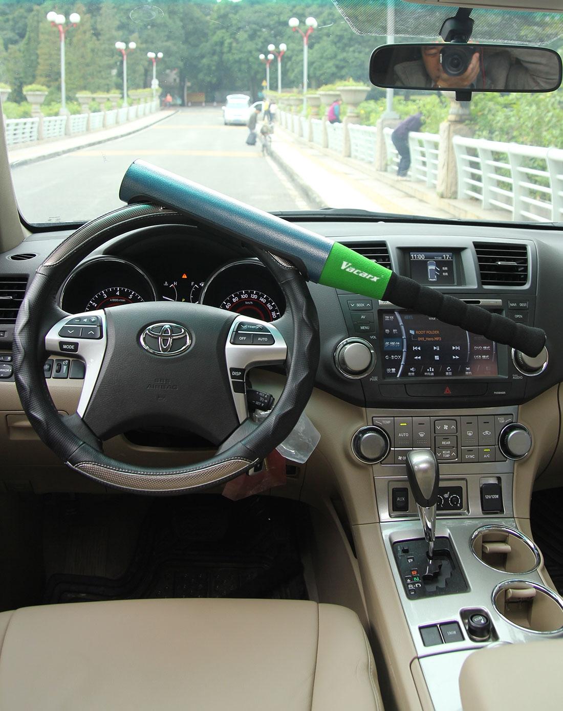 威卡司 汽车方向盘锁(绿色)