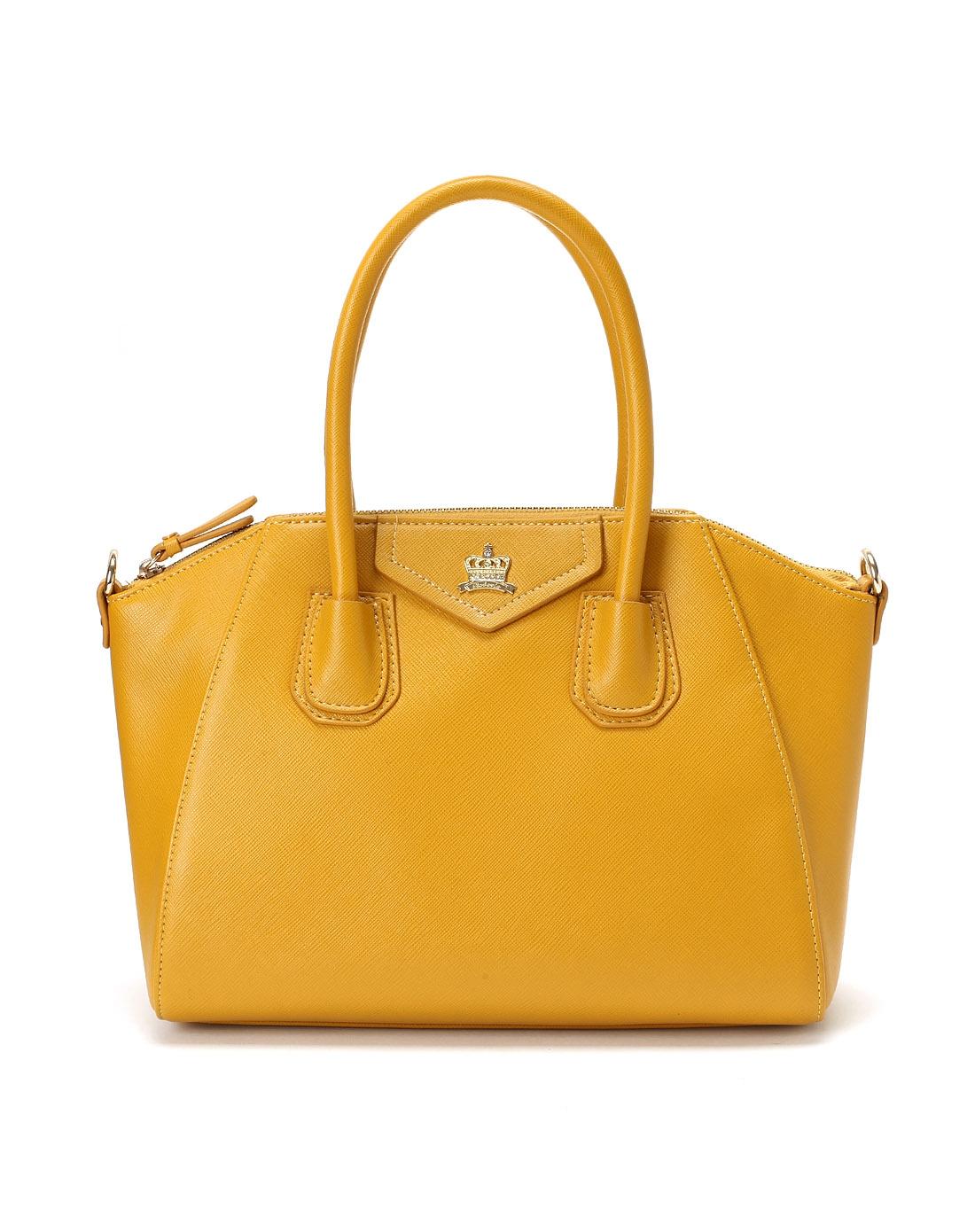 哈森harson集团品牌女鞋卡文cover2014新款黄色人造