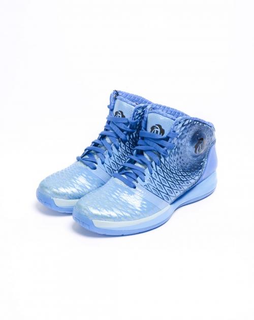 阿迪达斯 男子蓝色篮球鞋   唯品会   1号店   adidas/阿迪