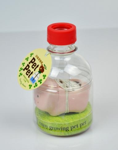 瓶子做动物手工