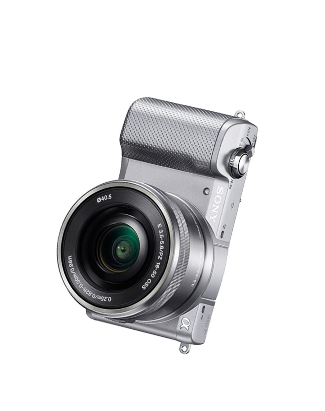 索尼数码微单相机a5000 16-50银