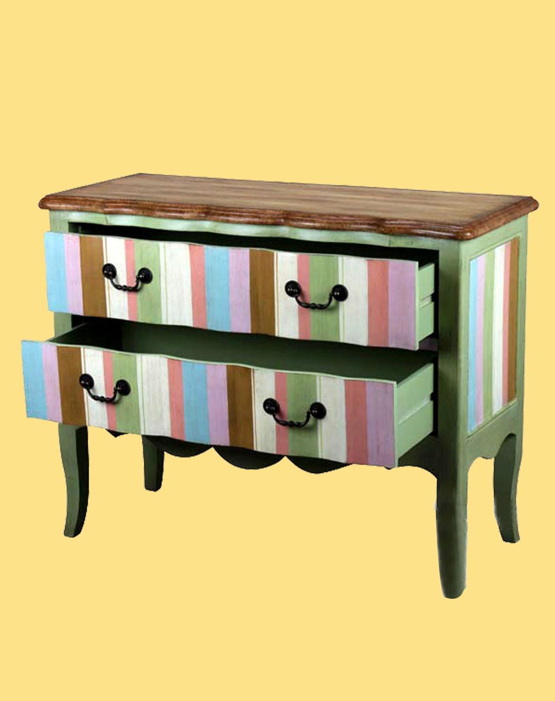 餐桌简笔画彩色