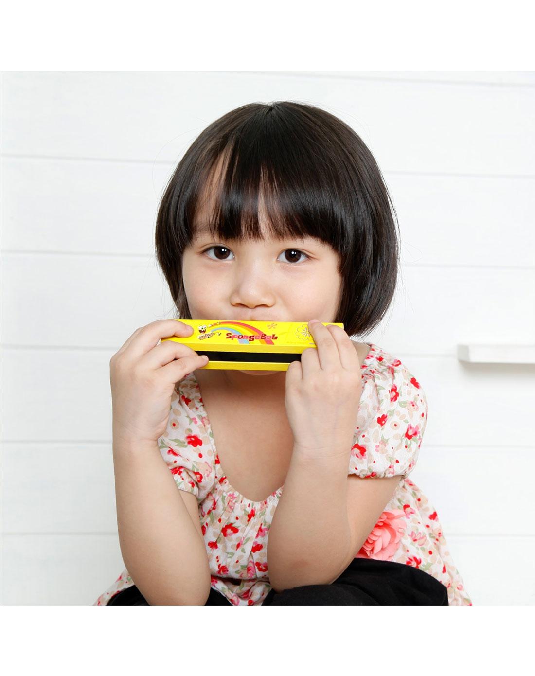 海绵宝宝乐器玩具造型口琴