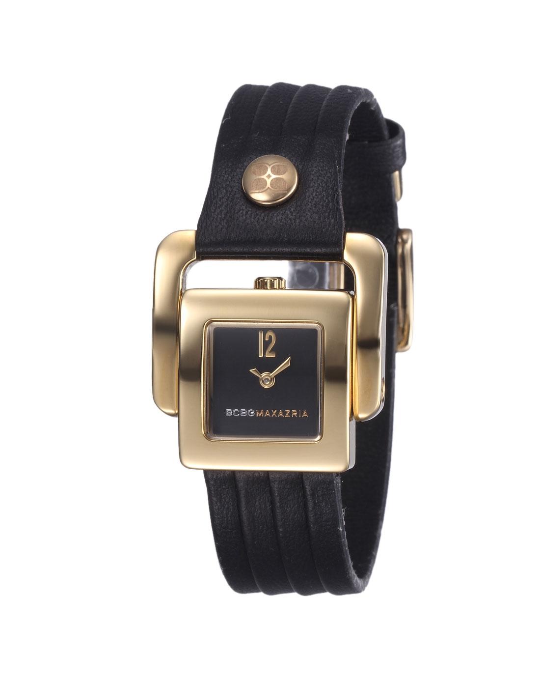 bcbg黑色时尚方形手表ibg6231-黑色