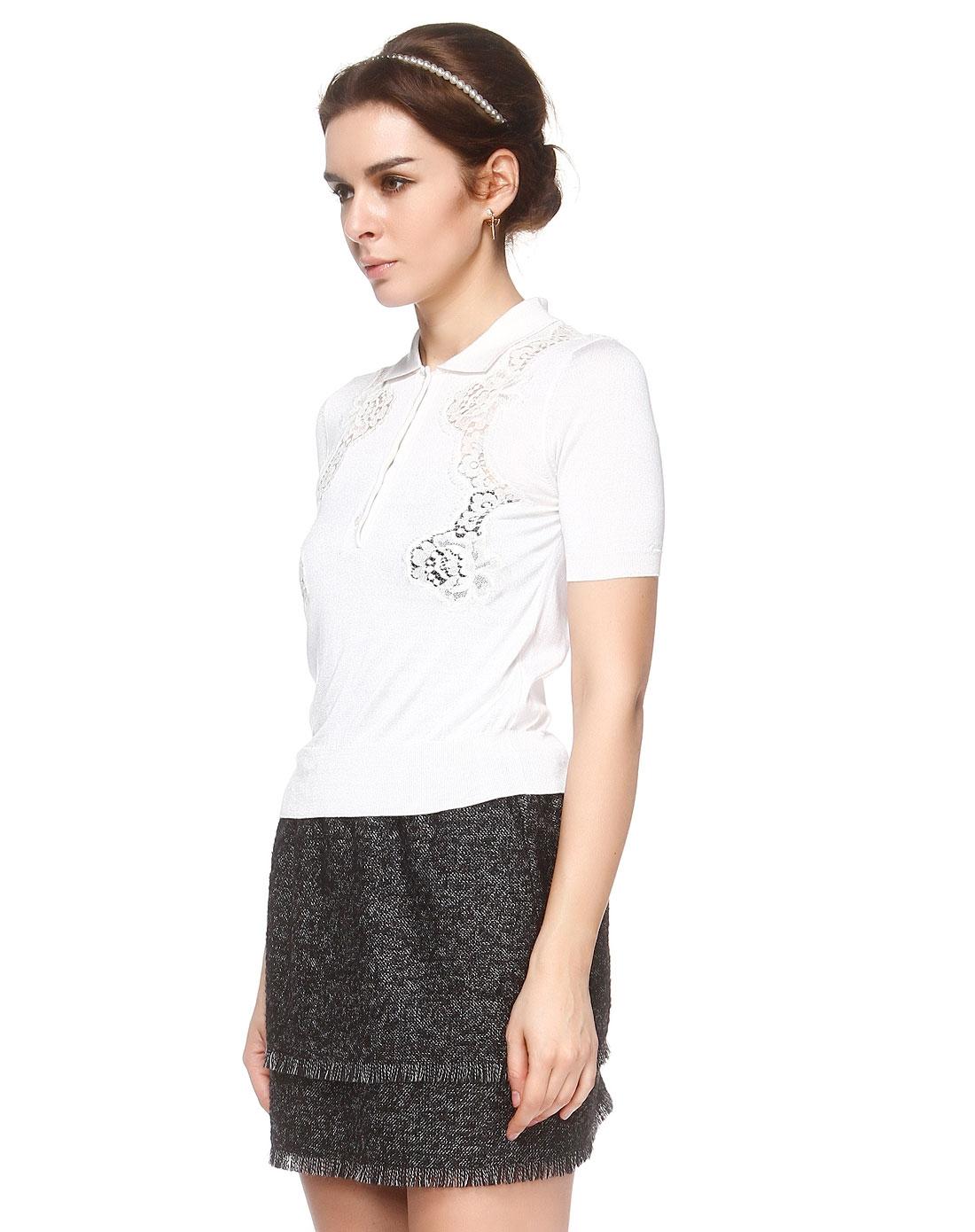 衬衫款式图手绘女短袖